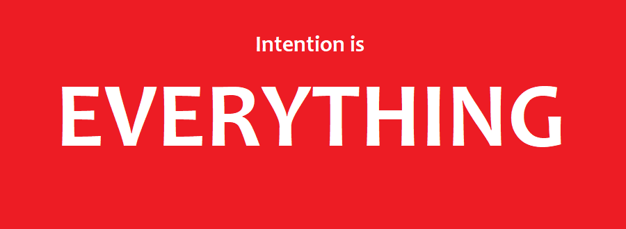 Keyword Intention is Everything